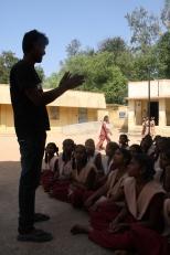 Working with national volunteers in schools